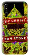 Happy Christmas From Sydney IPhone Case