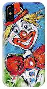 Happy Clown-ideal For Childrens Nurserys IPhone Case