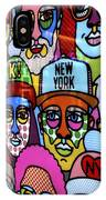 Happy Faces Happy Places New York IPhone X Case