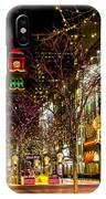 Happy Holidays Downtown Denver Co IPhone Case