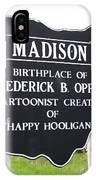 Happy Hooligan IPhone Case
