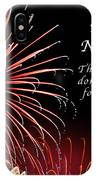 Happy New Year Psalm 123-3 IPhone Case