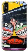 Happy Teeth When Your Smiling IPhone Case