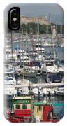 Harbor Antibes  Cote D'azur IPhone Case