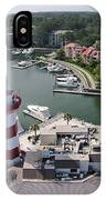 Harbor Town 1 In Hilton Head IPhone Case