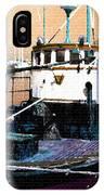 Harbour Scene IPhone Case