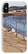 Harbour Wall Promenade IPhone Case