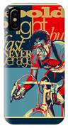 Hard As Nails Vintage Cycling Poster IPhone X Case