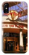 Hard Rock Cafe At Union Station IPhone Case