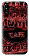 Hard Rock Cafe Nola IPhone Case