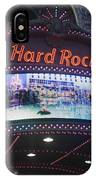Hard Rock Marquee Nyc IPhone Case