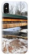Hardwick Covered Bridge  IPhone Case