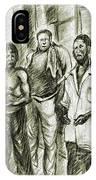 Harlem Guys - New York Art IPhone Case