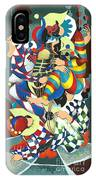 Harlequins Acting Weird - Why?... IPhone Case