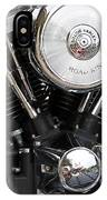Harley Chrome And Steel IPhone Case