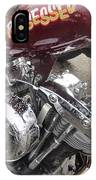 Harley Close-up Possessed IPhone Case