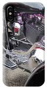 Harley Close-up Purple Lights IPhone Case