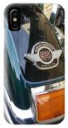 Harley Close-up Tail Light IPhone Case