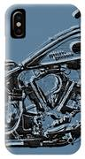 Harley-davidson And Words IPhone Case
