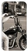 Harley Davidson Black And White IPhone Case