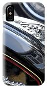 Harley Davidson Motorcycle American Eagle Fender Ornament Usa IPhone Case