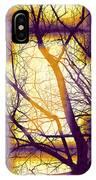 Harmonious Colors - Violet Yellow Orange IPhone Case