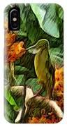 Harmoniously Green IPhone X Case