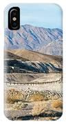 Harmony Borax Works Death Valley National Park IPhone Case