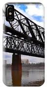 Harrahan Railroad Bridges IPhone Case