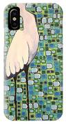 Harried Heron IPhone Case