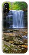 Harrison Wright Falls In Early Fall IPhone Case