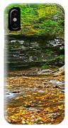 Harrison Wright Falls Panorama IPhone Case