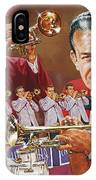 Harry James Trumpet Giant IPhone Case