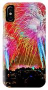 Hart Plaza Fireworks IPhone Case