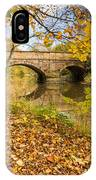 Hartford Bridge In Autumn IPhone Case