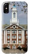 Harvard University Moors Hall IPhone Case