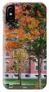 Harvard Yard Fall Colors IPhone Case