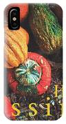 Harvest Blessings IPhone Case