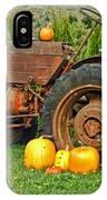 Harvest Tractor IPhone Case