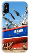 Hastings Fishing Boat IPhone Case