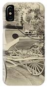 Haunted Mansion Hearse New Orleans Disneyland Heirloom IPhone Case