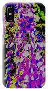 Haunted Wisteria  IPhone Case