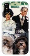 Havanese Art - Father Of The Bride Movie Poster IPhone Case