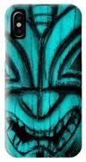 Hawaiian Aquamarine Mask IPhone Case