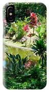 Hawaiian Cultural Garden Honolulu Airport IPhone Case