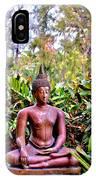 Hawaiian Garden Buddha  IPhone Case