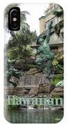 Hawaiian Hilton Statues IPhone Case