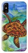 Hawaiian Sea Turtle IPhone X Case