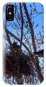 Hawk Family Nesting IPhone Case