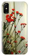 Hawkweed In Late Autumn Sun IPhone Case